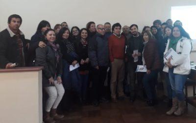 IST capacitó a funcionarios de INDAP de la Región de Coquimbo