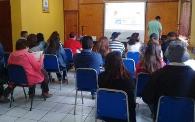 IST capacitó a clubes deportivos y organizaciones adherentes de San Esteban