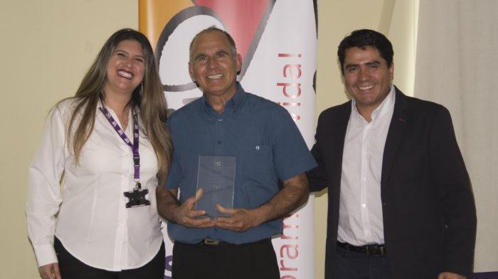 Distinción Aporte Destacado en Prevención - Luis Alfaro de Iquique Technical Services Ltda.