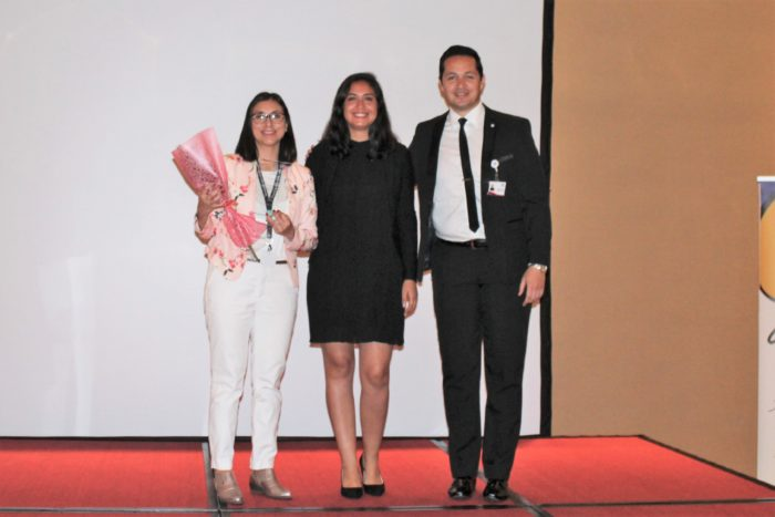 Distinción Aporte Destacado en Prevención - Marcela Rivera Traslaviña del Servicio de Salud Arica