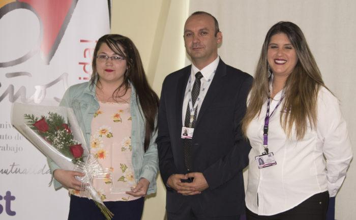 Distinción Gestión en Prevención - Geraldine Solís de Technical Services Ltda.