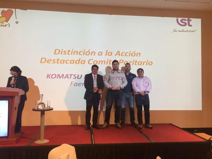 Distinción Trayectoria Ejecutiva en el Cuidado de la Vida - Luis Tapia de Sociedad Basic Hermanos y Cía Ltda.