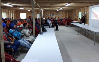 IST Coquimbo capacitó en autocuidado a trabajadores de EBCO Sur