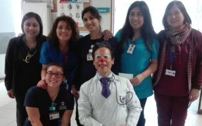 Dr. Cuidado del IST visitó el Hospital Mario Sánchez de La Calera