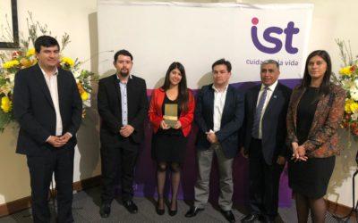 IST Zonal Sur distingue a empresas adherentes por su gestión preventiva