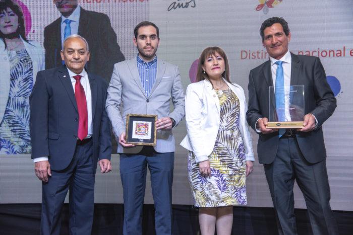 Aporte Destacado en Prevención - Sr. Eduardo Guerrero de Servicios Industriales