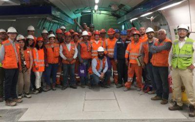IST premió a colaboradores de la empresa Ferrovial Agroman Chile