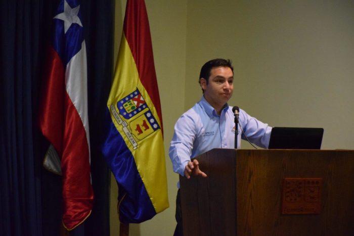 Marcos Espinoza, integrante de la Quinta Compañía del Cuerpo de Bomberos de Viña del Mar