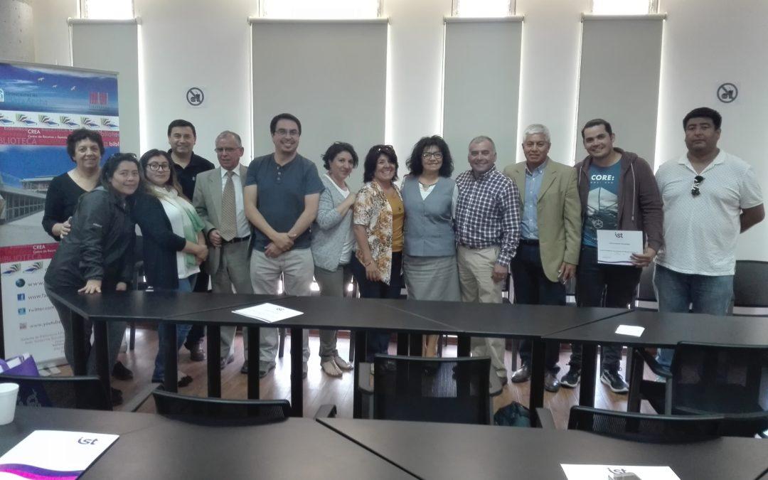 IST capacita a CPHS de la UPLA sobre investigación de accidentes