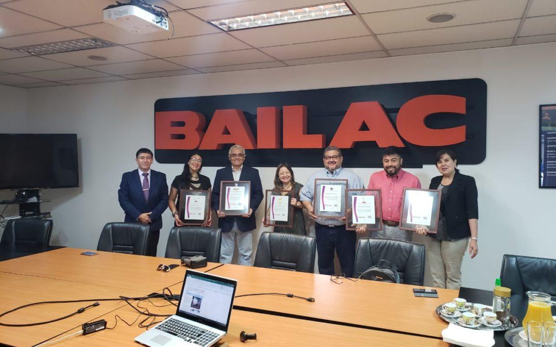 Bailac Thor certificó su sistema integrado de gestión en sólo 3 meses