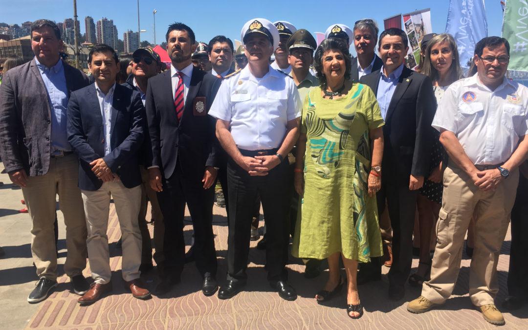 VIDEO: IST participó en lanzamiento del Verano Seguro 2019 en Viña del Mar
