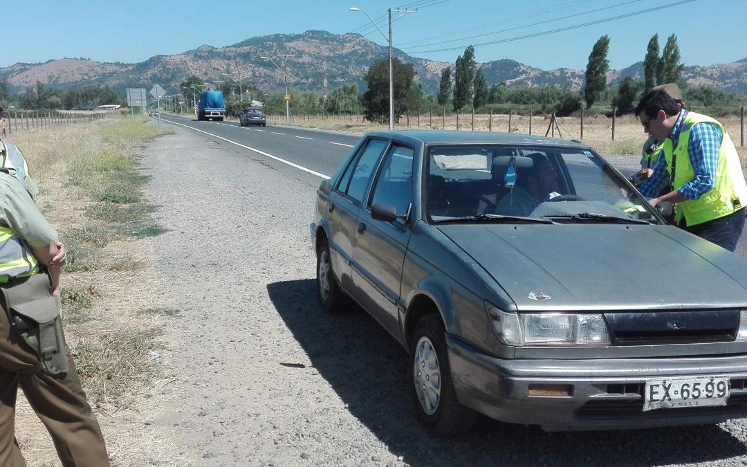 IST participó en campañas preventivas de accidentes de tránsito en Teno