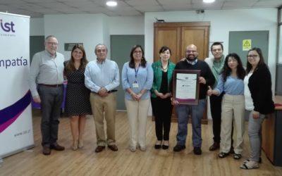 IST entregó acreditación SAC al comité paritario de SAAM