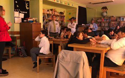 IST dictó charla de alimentación saludable en escuela de Puerto Montt