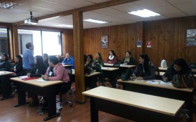 Taller de formación para Comités Psicosociales de jardines infantiles de Puerto Montt