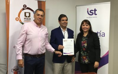 Comité Paritario de empresa R y Q Ingeniería firmó protocolo de cumplimiento