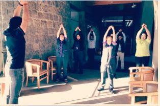 IST realiza jornada de pausas activas en Termas El Corazón de San Esteban