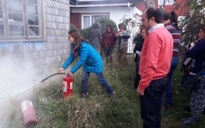 IST capacitó a funcionarias de jardín intantil Arcoiris de Puerto Varas