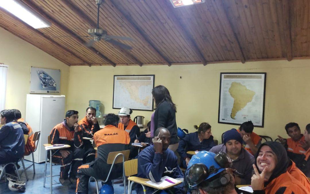 IST capacitó a 50 trabajadores de Recauchajes Mineros Bailac