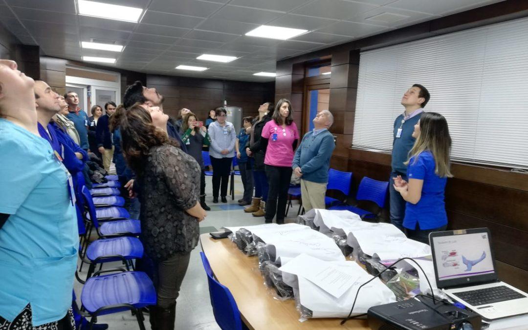 IST entregó materiales preventivos a funcionarios del Cesfam de Puerto Varas