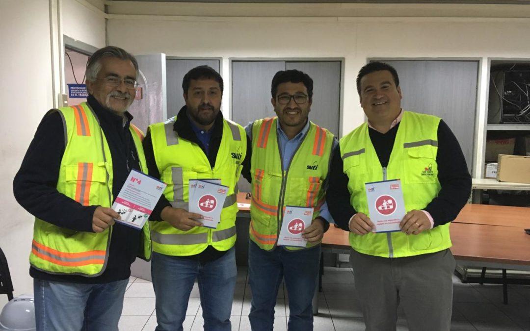 """Ist Zonal Sur participó en difusión de la """"Cuarta regla por la vida"""" de SVTI"""