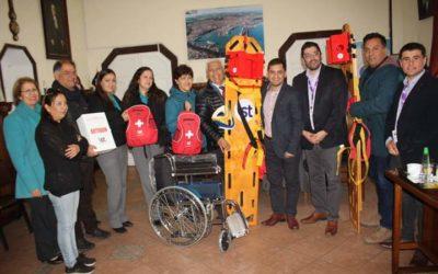 IST entregó implementos médicos a la Municipalidad de San Antonio
