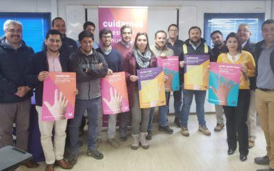 IST realiza campaña sobre el cuidado de las manos en ENAP