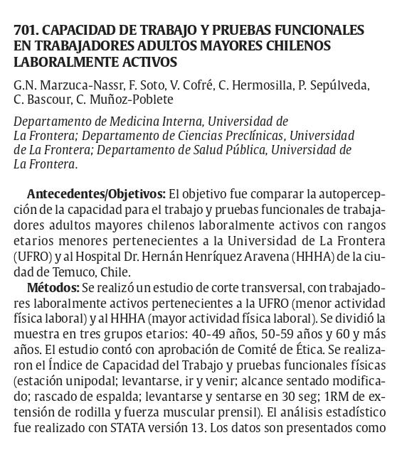 Ist apoya investigación de la Ufro presentada en España