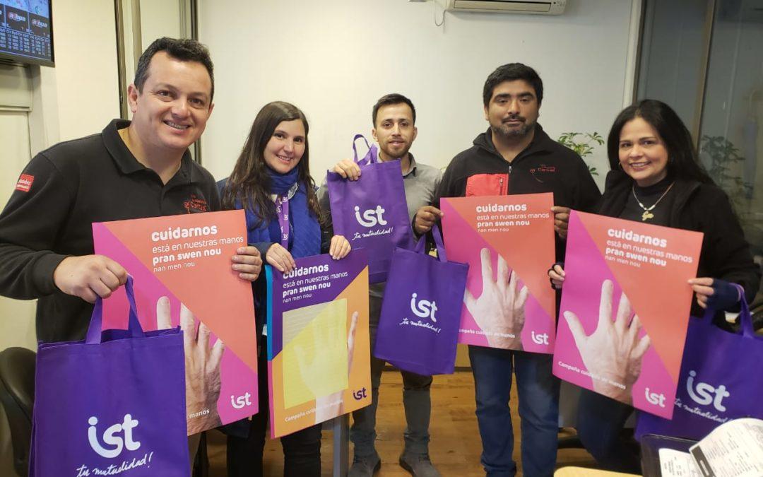 Cartoni e IST lanzan campaña preventiva sobre cuidado de las manos