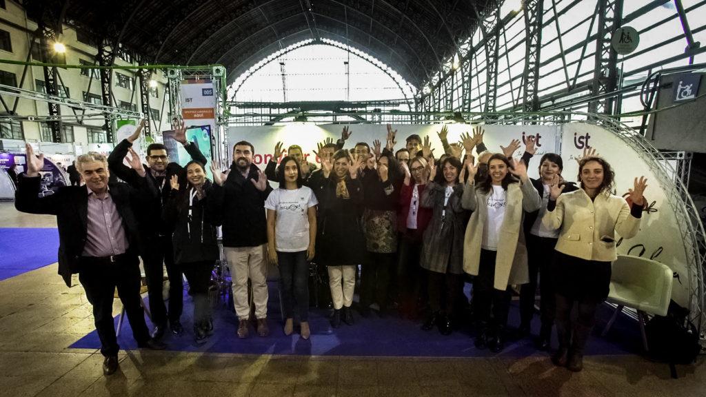 IST participa en expo inclusión