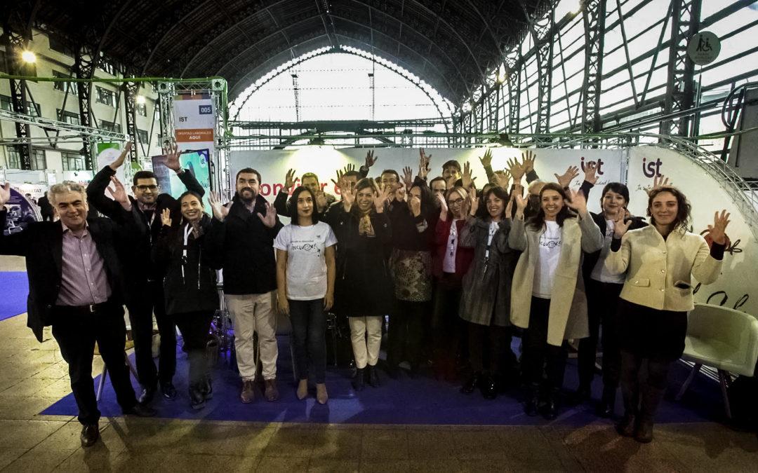 Expo Inclusión: colaboradores IST destacaron por su compromiso en la atención de los asistentes