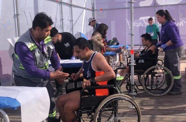 Exitoso apoyo médico del IST en Maratón Internacional de Viña del Mar