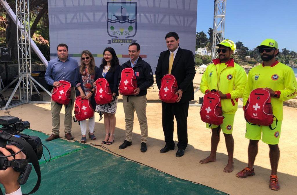 IST participa en lanzamiento de temporada de playas 2020 en Zapallar