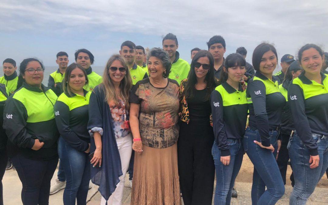 IST apoya programa Verano Seguro en playas de Viña del Mar