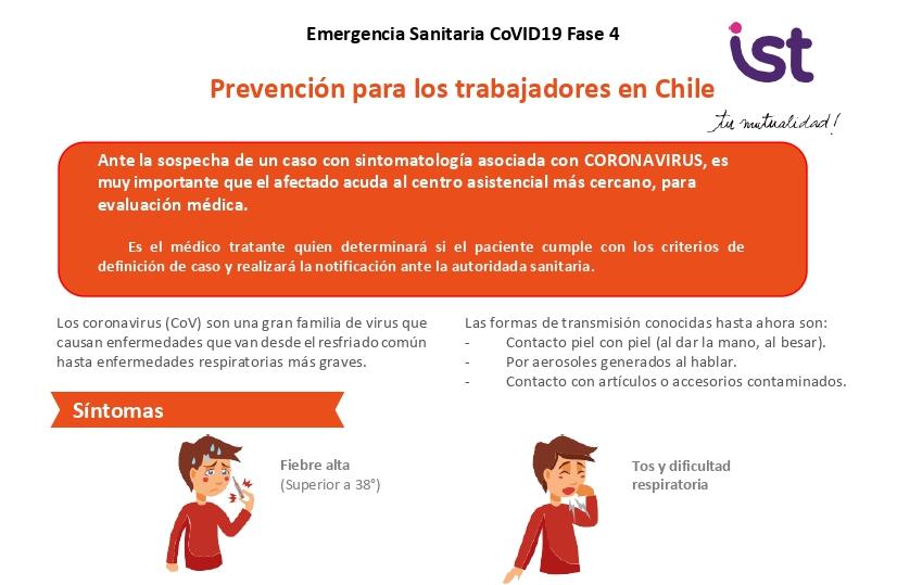 CoVID-19: Sugerencias para la prevención de los trabajadores