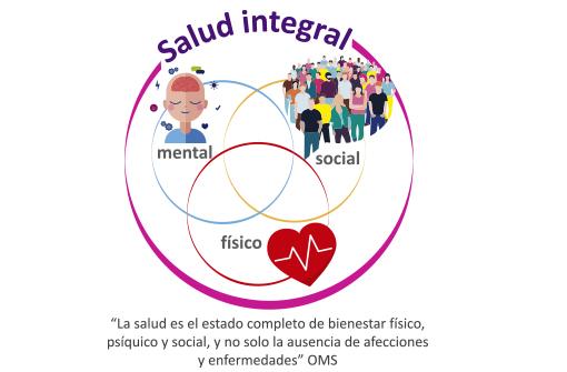Salud integral; bienestar mental, físico y social