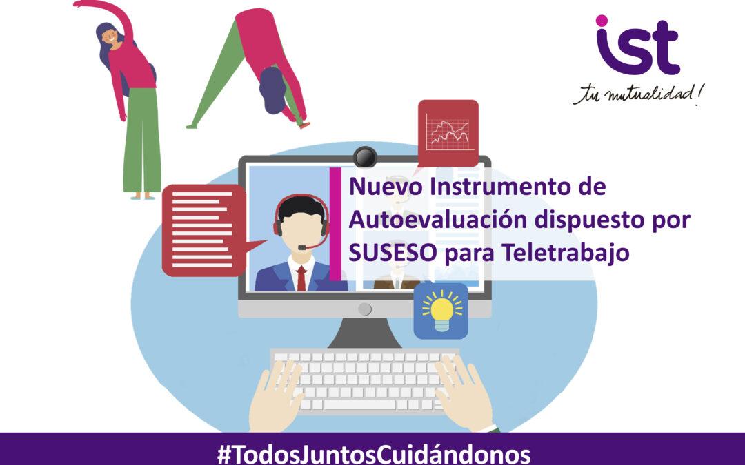 Nuevo Instrumento de Autoevaluación dispuesto por SUSESO para Teletrabajo