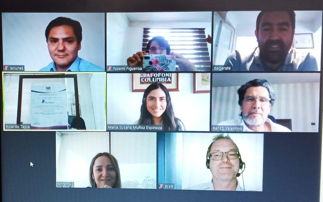 Premiación de la acreditación SAC para Comités Paritarios, de la empresa Pacific Hydro Chile