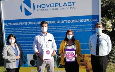 """""""Certificación Sello Covid-19 empresa NOVOPLAST"""""""