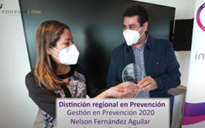 Distinción a la Gestión en Prevención 2020